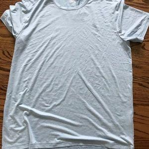 Light Blue 32 Cool workout shirt!!!